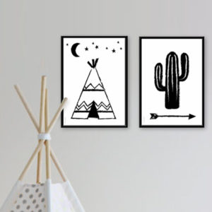 Poster A4 – Cactus